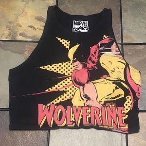 Wolverine crop top